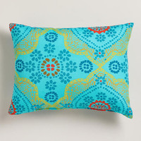Mosaic Outdoor Lumbar Throw Pillow