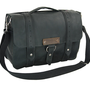 "Leather Laptop Bag New: Handmade in the U.S.A. - Classic Black Color - Voyager Style 15""- Free Shipping in the U.S."