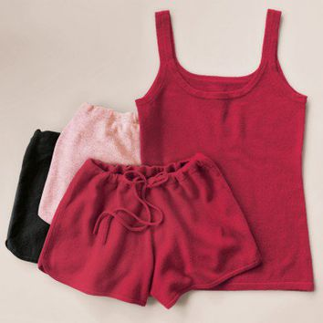 Cashmere tank set at RedEnvelope.com
