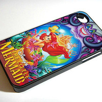 Ariel The Little Mermaid  Disney  iPhone 4 / by CustomCazeShop