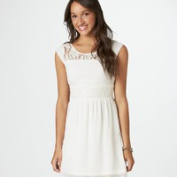 AE Paneled Lace Dress | American Eagle Outfitters