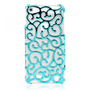 Mint Hollow Flower Vine iPhone 5 Case