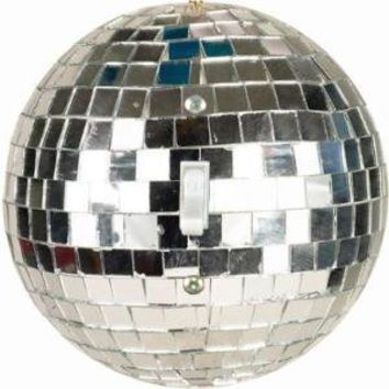 Disco Ball Round Light Switch Plate Cover by ImpressionsExpress