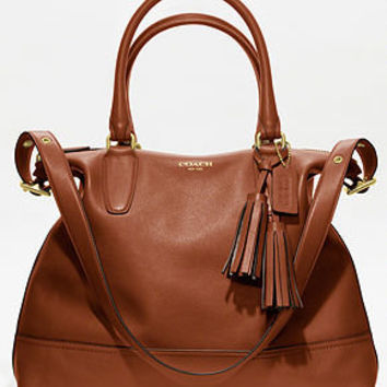 COACH LEGACY LEATHER RORY SATCHEL - Satchels - Handbags & Accessories - Macy's