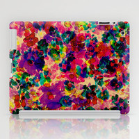 Floral Explosion iPad Case by Amy Sia | Society6