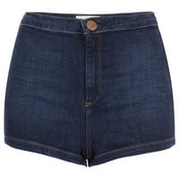 MOTO High Waist 50s Hotpants - Shorts  - Clothing