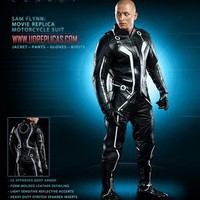 UD REPLICAS TRON LEGACY SAM FLYNN REPLICA MOTORCYCLE SUIT on eBay!