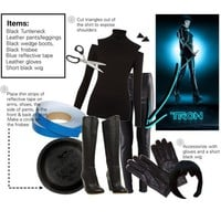 DIY Halloween Costume: Quorra from Tron: Legacy - Polyvore