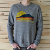 Burlington Vermont Crew Neck Sweatshirt by NewDuds on Etsy