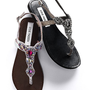 Embellished Thong Sandal