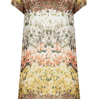 **Flower Shift Dress by Love - Dresses - Clothing - Topshop