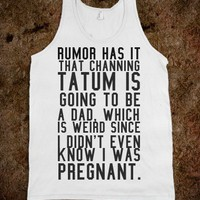 Rumor has it - Hipster Apparel - Skreened T-shirts, Organic Shirts, Hoodies, Kids Tees, Baby One-Pieces and Tote Bags