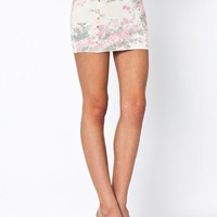 floral-studded-mini-skirt PINKCREAM - GoJane.com