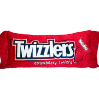 Big Plush Twizzlers Candy Pillow | CandyWarehouse.com Online Candy Store