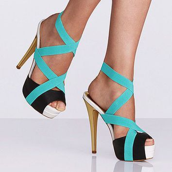 Color-block Elastic Sandal - Colin Stuart  Victoria's Secret