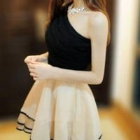 SEXY ONE SHOULDER RUFFLE STYLE FORMAL DRESS
