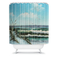 DENY Designs Home Accessories | Rosie Brown Beach Dunes Shower Curtain