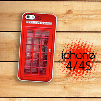 iPhone Case British Phone Box  / Hard Case For iPhone 4 and iPhone 4S Iconic London Plastic or Rubber Trim