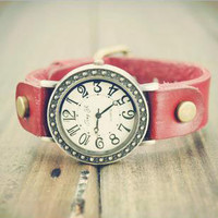 Retro Vintage Girl watch