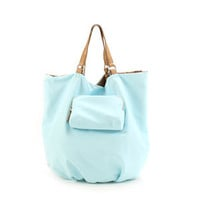Kooba Audra Bag in Aqua at Carolina Boutique in downtown Mill Valley