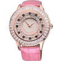 Luxury Diamond-studded Classic Ladies Watch