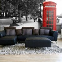 British Telephone Wall Mural