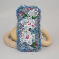 Embroidered Brooch - Plum Blossom