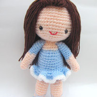 Buy Bella Ballerina Girl pattern - AmigurumiPatterns.net