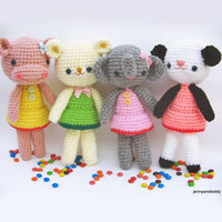 Buy Girlgang pattern - AmigurumiPatterns.net