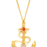 Pirates of Pendants Necklace | Mod Retro Vintage Necklaces | ModCloth.com