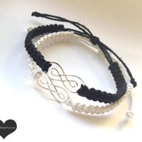 Double Infinity Bracelets For Couples or Friends Wedding Jewelry