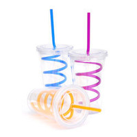 Reusable Takeaway Eco Cup w/ Straw - Re-usable takeaway cup with straw - LatestBuy Australia