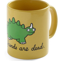 Cry-ceratops Mug | Mod Retro Vintage Kitchen | ModCloth.com