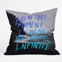 Leah Flores Infinite Throw Pillow - Indoor /