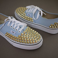 Custom Studdedor Spiked Vans of your Choice by shellyannforrest