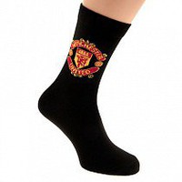 Manchester United F.C. Socks 1 Pack Mens 6-11