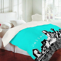 DENY Designs Home Accessories | Bird Ave Dallas Aqua Duvet Cover