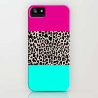 Leopard National Flag iPhone Case by M Studio