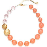 R.J. Graziano Multi-Size Resin Bead Necklace