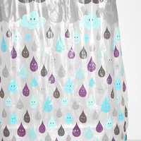Urban Outfitters - Raindrop Shower Curtain