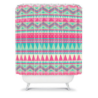 DENY Designs Home Accessories | Iveta Abolina Pink Navajo Shower Curtain