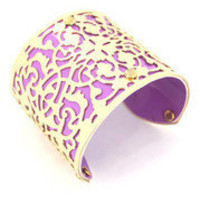 Purple Filigree Cuff â?? Modeets
