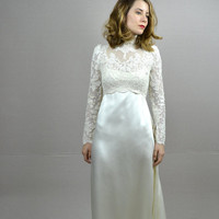 vintage wedding dress / lace wedding dress / Amelie