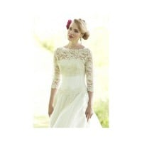 Lovely removable lace jacket to match with 3/4 length sleeves Wedding Dress - Star Bridal Apparel