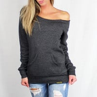 Eco Black Off Shoulder