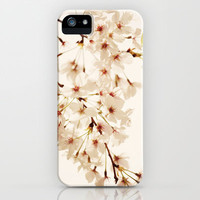Pink Cherry Blossoms iPhone Case by Erin Johnson