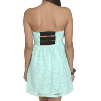 Lace Bar Back Dress | Shop Dresses at Wet Seal
