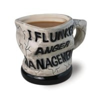 Big Mouth Toys Anger Management Ceramic Mug: Kitchen &amp; Dining