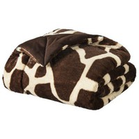 Threshold Multi Giraffe Faux Fur Throw