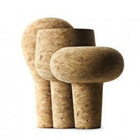 Cork Wine & Bar Stoppers 3pcs